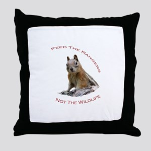 Feed The Rangers Throw Pillow