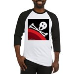 Agile Pirate Logo (With Text) Baseball Jersey