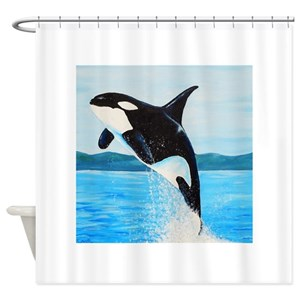 Orca Shower Curtains