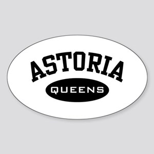 Astoria Queens Oval Sticker