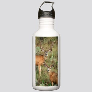 Mule deer velvet Stainless Water Bottle 1.0L
