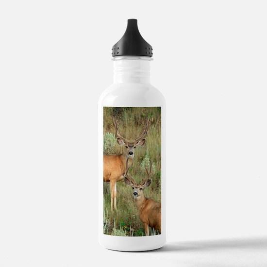 Mule deer velvet Water Bottle