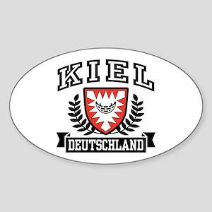Kiel Deutschland Sticker (Oval)