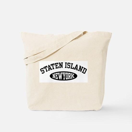 Staten Island New York Tote Bag