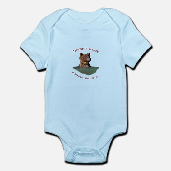 Grizzly Bear Infant Bodysuit