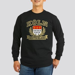 Koln Deutschland Long Sleeve Dark T-Shirt