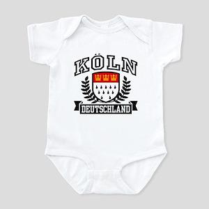 Koln Deutschland Infant Bodysuit
