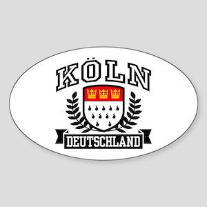 Koln Deutschland Sticker (Oval)