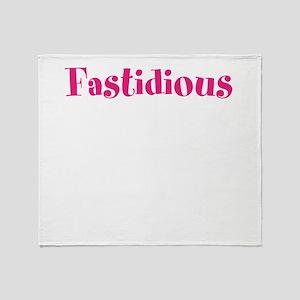 Fastidious Throw Blanket