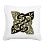Celtic Dark Sigil Square Canvas Pillow