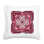Celtic Valentine Square Canvas Pillow