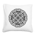 Celtic Shield Square Canvas Pillow