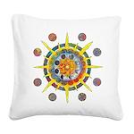 Celtic Stargate Square Canvas Pillow