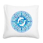 Celtic Dolphins Square Canvas Pillow