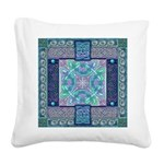Celtic Atlantis Opal Square Canvas Pillow