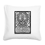 Celtic All-Seeing Eye Square Canvas Pillow