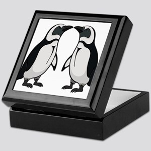 Penguin Kiss Keepsake Box