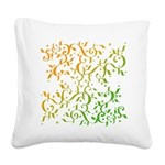 Abstract Arabic Design Square Canvas Pillow