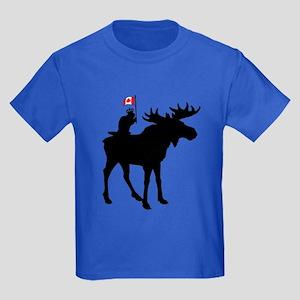 Oh Canada ! Kids Dark T-Shirt