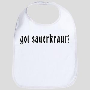 Got Sauerkraut Bib