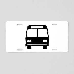 Bus Aluminum License Plate
