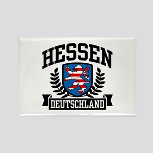 Hessen Deutschland Rectangle Magnet
