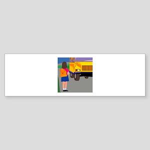 Bus Sticker (Bumper)
