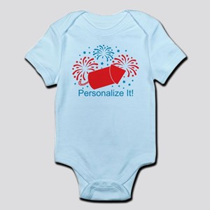 PERSONALIZED Cute Fireworks Body Suit