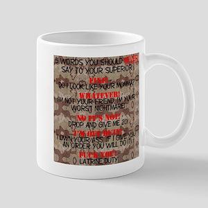 5 Words Mug