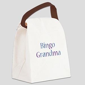 Bingo Grandma Canvas Lunch Bag
