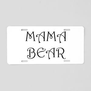 Mama bear Aluminum License Plate