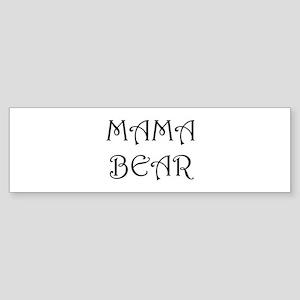 Mama bear Bumper Sticker
