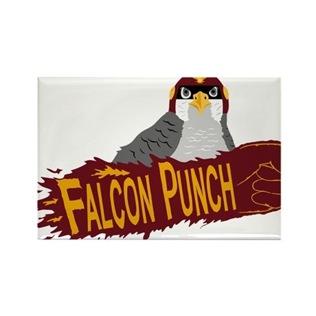 Falcon Punch Rectangle Magnet