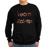 Team Katniss ( flame) Sweatshirt (dark)
