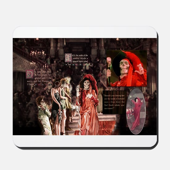 Red Death 1925 Phantom of the Opera Mousepad