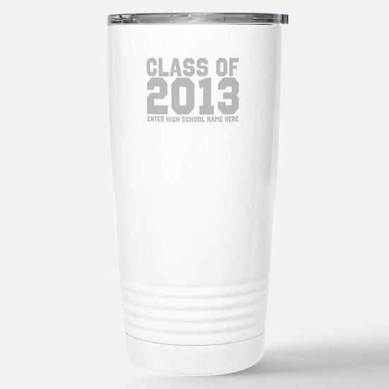 2013 Graduation Stainless Steel Travel Mug