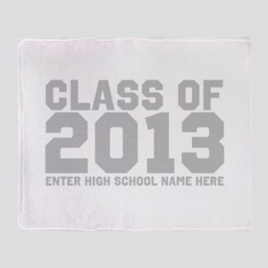 2013 Graduation Throw Blanket