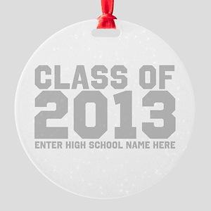 2013 Graduation Round Ornament