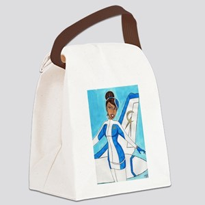 Come Fly With Us Canvas Lunch Bag