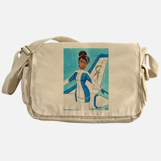 Come Fly With Us Messenger Bag