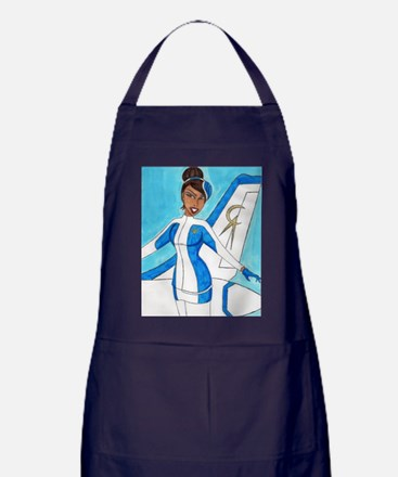 Come Fly With Us Apron (dark)