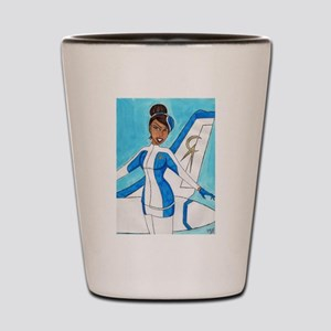Come Fly With Us Shot Glass