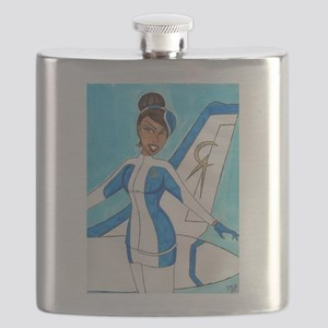 Come Fly With Us Flask
