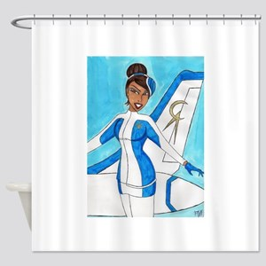 Come Fly With Us Shower Curtain