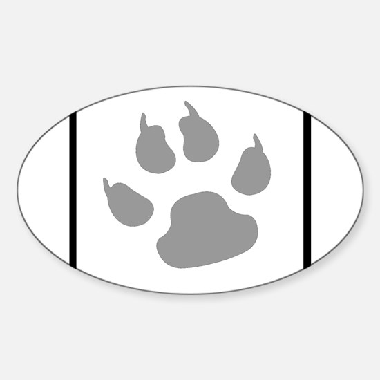 furry canine Decal