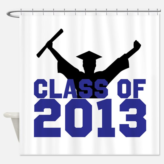 2013 Graduation Shower Curtain