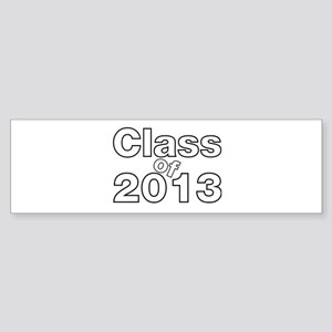 2013 Graduation Sticker (Bumper)