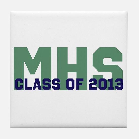 2013 Graduation Tile Coaster