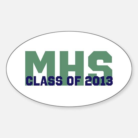2013 Graduation Sticker (Oval)