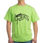 Destroy them with lazers Green T-Shirt